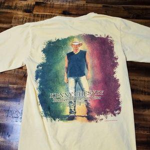 Kenny Chesney 2012 Tour Vintage Tshirt - Small